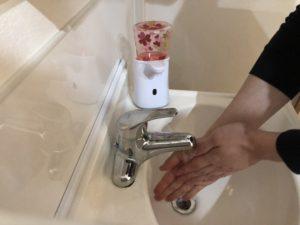 コロナ対策手洗い