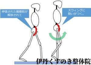 腸腰筋歩行
